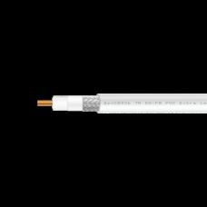 Кабель коаксиальный 5D-FB СU PVC (белый)